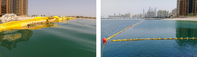 Ecobarrier Jellyfish Nets: Detachable Float Nets