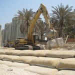 Coastal Protection Barriers: Geosynthetic Containers (Geobags)