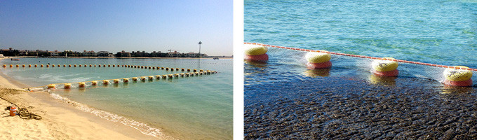 Ecobarrier Jellyfish Nets: Okean Float Nets