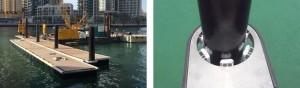 Ecobarrier Marine Pile Sleeves: HDPE Sleeves