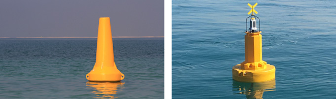 Ecobarrier Navigation Buoys