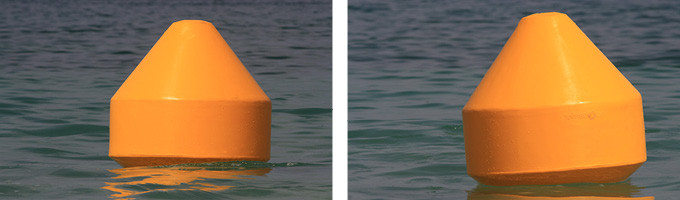 Ecobarrier Navigation Buoys: Floating Buoy