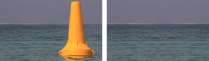 Ecobarrier Navigation Buoys: Navigation Buoy ENB-750