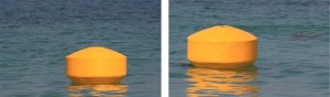 Ecobarrier Navigation Buoys: Mooring Buoy