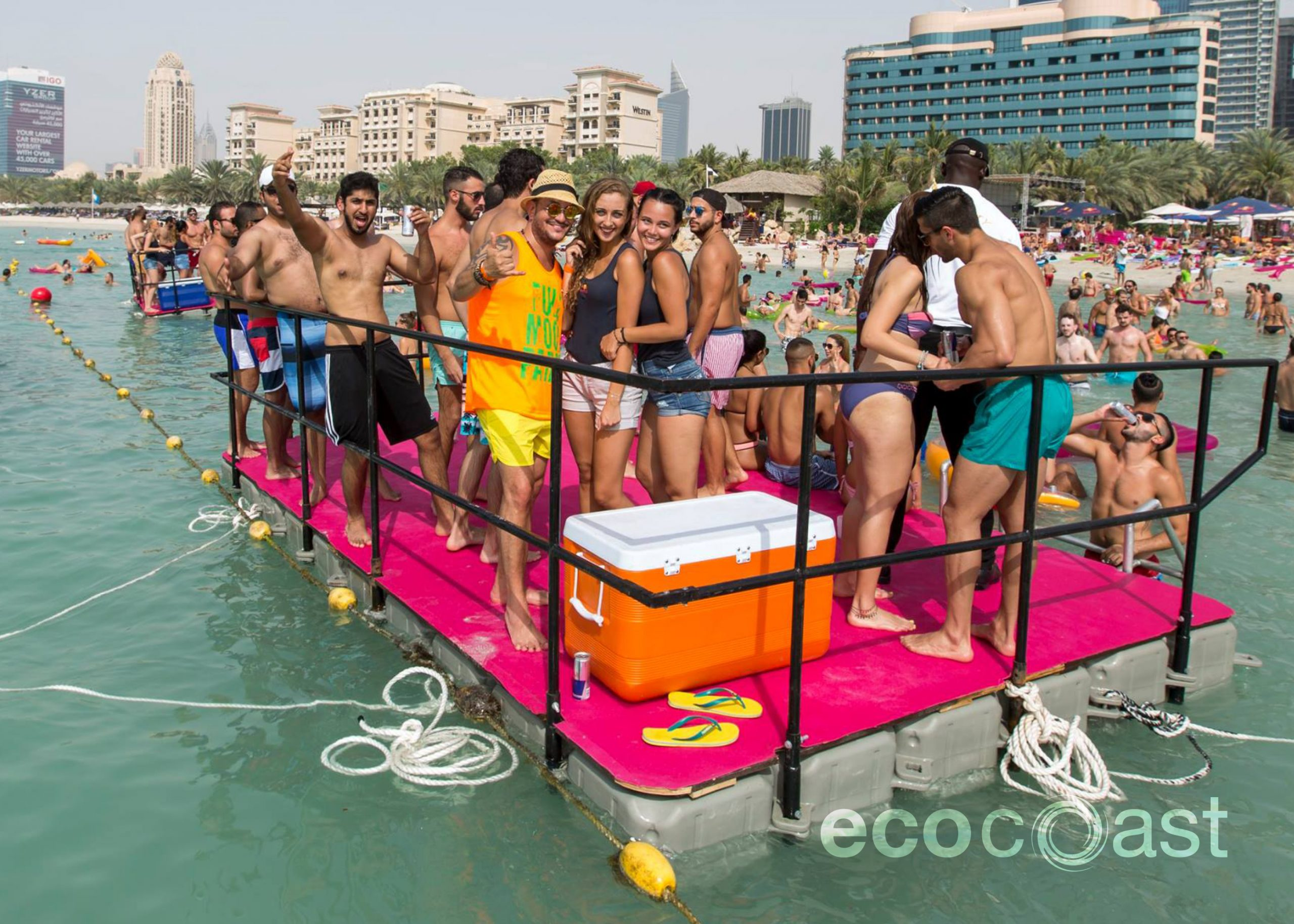 Special Event Services, Blink Barasti Red Bull Open Water Party