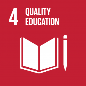 CONTRIBUTING TO THE UNITED NATIONS GLOBAL GOALS – the 17 Sustainable Development Goals (SDGs), SDG 4