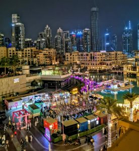 Marine Event Support for Miami Vibes at The Dubai Mall