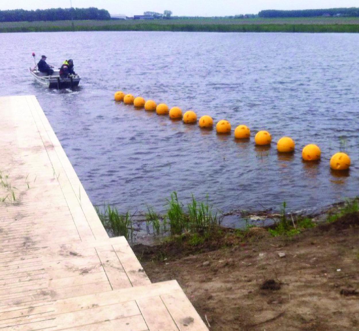 Ball Float Demarcation Barrier