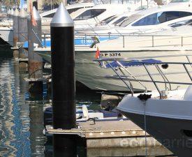 Dubai Marina Yacht Club, Marine Pile Sleeves
