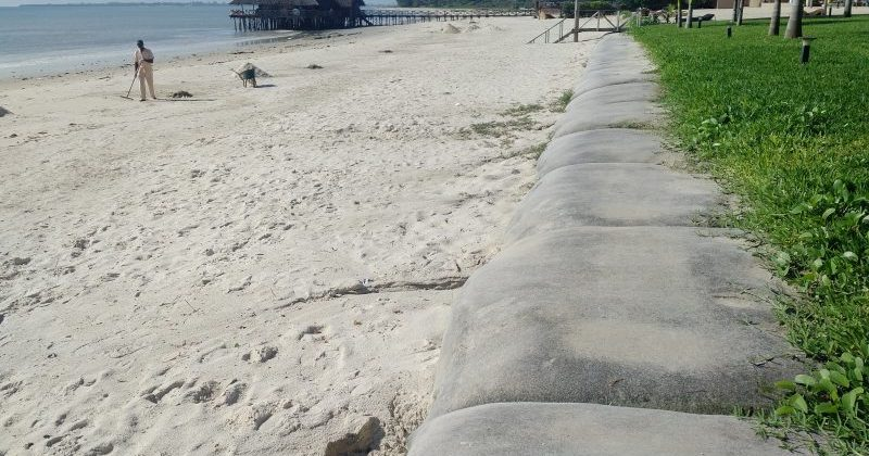 Coastal Protection Barriers: Ecobags