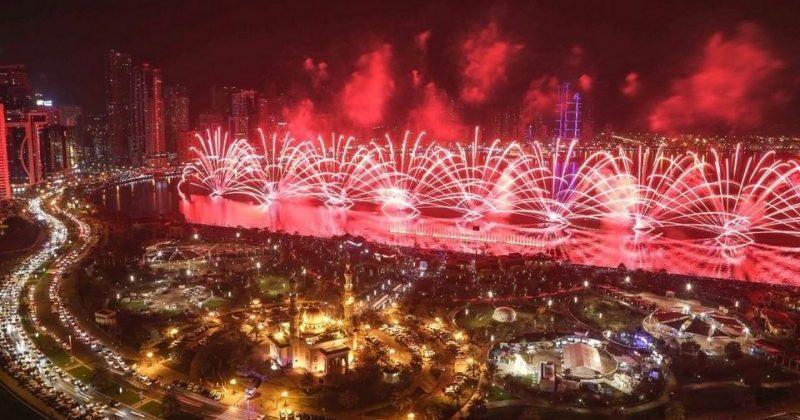 Events, NYE Fireworks 2016, #16348, FED, Sharjah, The National