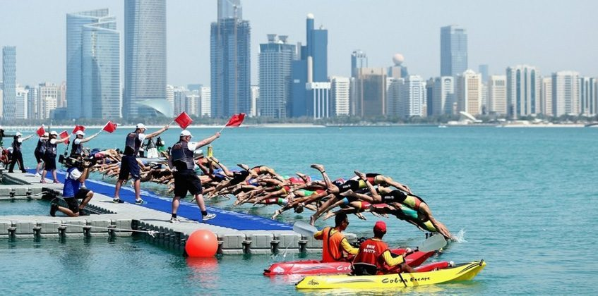 Marine event services in the UAE