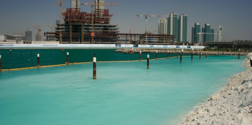Ecobarrier Silt Curtain - Type I for inshore use