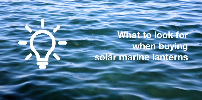 What to look for when buying solar marine lanterns