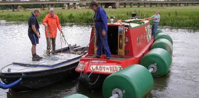 Bolina Safety Booms Protecting Boaters and Their Craft