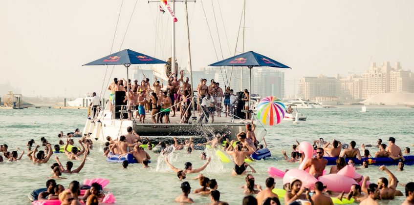 Special Events, #16081, Blink Barasti Red Bull Open Water Party Pontoon, May 2016 - Source barastibeach.com