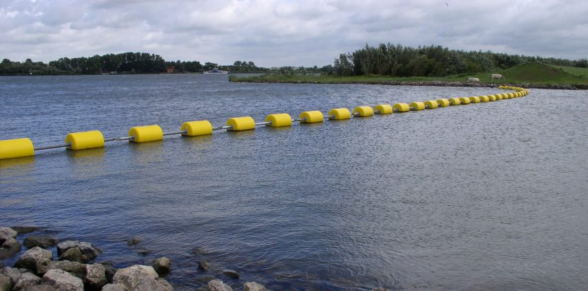 Bolina booms are the preferred choice for Staatsbosbeheer