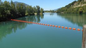 Bolina Recreation Booms provide safety in the water