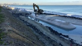 [CASE STUDY] Coastal protection on Saadiyat Island using geosynthetics